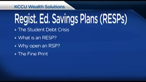 How do you save for your child's education? Dwayne Henne from KCCU Wealth Management has some suggestions.
