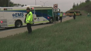 School bus crash on Whitemud injures driver, kids
