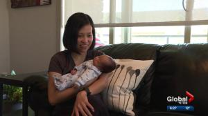 Edmonton mother lost weight during pregnancy due to illness