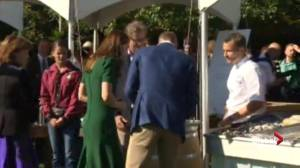 Prince William and Kate speak to vintners in B.C. for Taste of British Columbia
