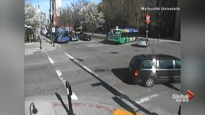 New video reveals nothing wrong with bus that crashed into Marquette University