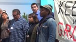 Protesters disrupt U.S. fossil fuel event at climate talks
