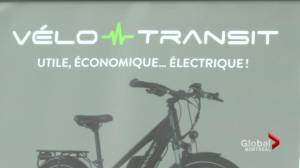 Montreal starts electric bike pilot project (02:21)