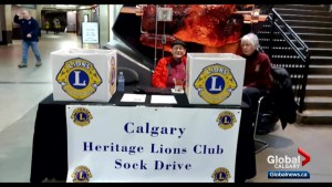 Calgary's Lion's Club giving Calgarians in need 'Toasty Toes'