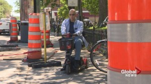 Wheelchair user highlights accessibility issues in Montreal
