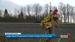 Judge slams prosecution in deadly careless driving case