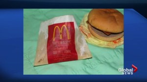 This is what happens to a McDonald's burger after six years