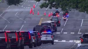 John McCain funeral: Funeral procession for senator in Washington, D.C.