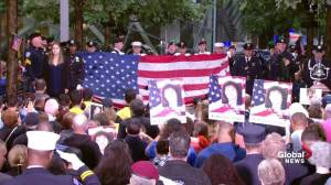 9/11 victims honoured in New York City during 17th anniversary