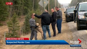Police converge on property near Bragg Creek in search for missing mom and daughter