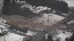 Home explosion levels home in Caledon, 1 killed
