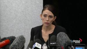 New Zealand shooting: Jacinda Ardern sees social media as 'global issue' in wake of mosque attack (00:52)