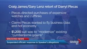 Legislature staff respond to overspending allegations