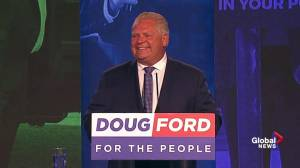 Ontario Election: Premier-elect Doug Ford full victory speech