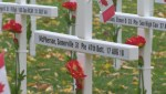 Kelowna's City Park is the site of a poignant reminder of the sacrifice local soldiers made in war
