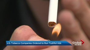 U.S. tobacco companies ordered to run truthful ads