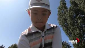 Pint sized golfer from B.C. is a World Champion