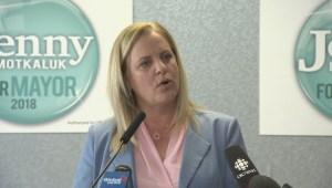 Winnipeg mayoral candidate Jenny Motkaluk outlines her top platform priority