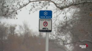 Monday snow route parking ban tips