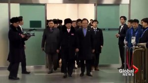 North Korean athletes arrive in South Korea for 2018 Winter Games