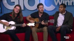 Noble Thiefs perform on Global News Morning