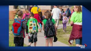 United Way Winnipeg's city wide collection drive for new backpacks