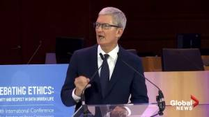 Apple's Tim Cook calls for tougher privacy laws amid 'weaponization' of data