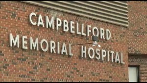 Repair dollars for Campbellford Hospital