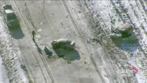1 dead, 1 injured in multi-vehicle Caledon crash (00:35)