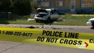 Charges pending after high-speed chase, crash involving several vehicles in Calgary