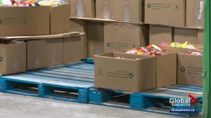 Edmonton's Food Bank low on donations