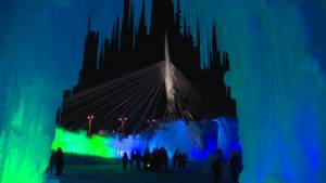 Ice Castles open Friday at The Forks in Winnipeg