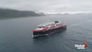 Cruise ship powered by battery to set sail on maiden voyage