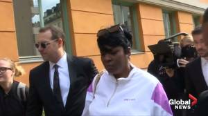 A$AP Rocky's mother, lawyer arrive at Swedish court