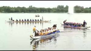 Peterborough's Dragon Boat Festival attracts more than 1,300 paddlers to Little Lake