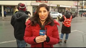 Global Peterborough live from Three Loonies on the Street Friday morning