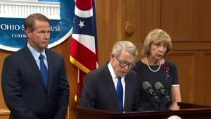Ohio's governor outlines gun law proposal after massacre