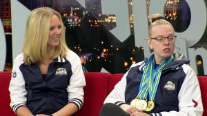 Swimmer Candice Bagan on big weight loss and Special Olympics win