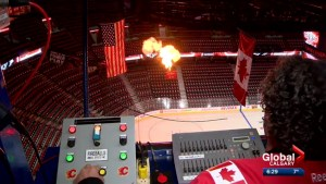 What does it take to prep for a Calgary Flames game?