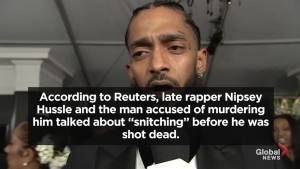 Nipsey Hussle, alleged killer discussed 'snitching' prior to Hussle's death: Reports