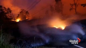 Volcanic eruption in Hawaii forces road closure, further evacuations