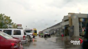 5 people impacted by lightning strike near the Calgary Airport