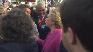Hillary Clinton turning to celeb support as campaign enters the home stretch