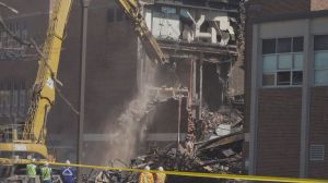 Firefighters tackle hotspots, sift through debris at York Memorial C.I.