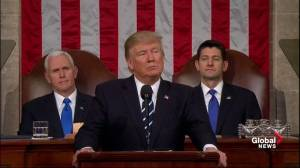 Trump Congress Speech: New budget to rebuild military, increase safety