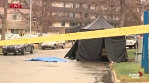 Suspicious death at apartment off Whitemud Drive in south Edmonton