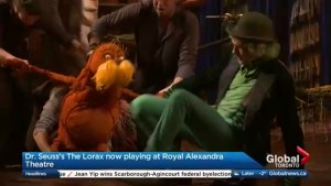 The Lorax hits the Royal Alexandra Theatre