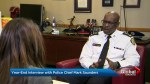 Farah Nasser speaks with Toronto Police Chief Mark Saunders in year-end interview