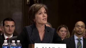 Donald Trump fires Attorney General Sally Yates after she tells staff not to defend travel ban