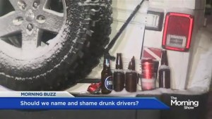 Playing the shame game with drunk drivers